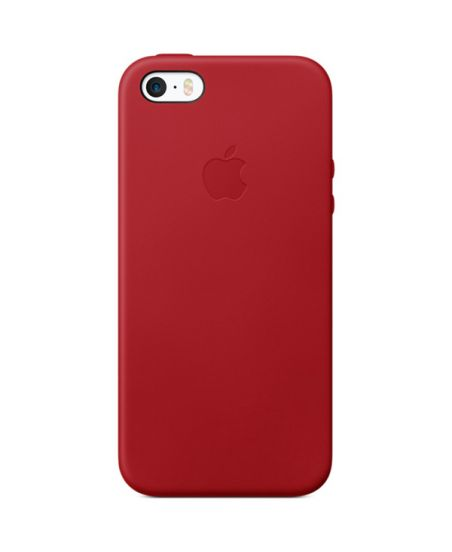 Чехол для iPhone Apple iPhone SE Leather Case RED